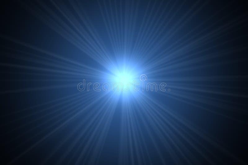 niebieska gwiazda ilustracja wektor