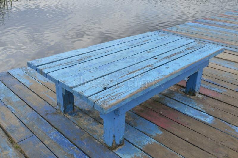 niebieska kanap zdjęcie stock