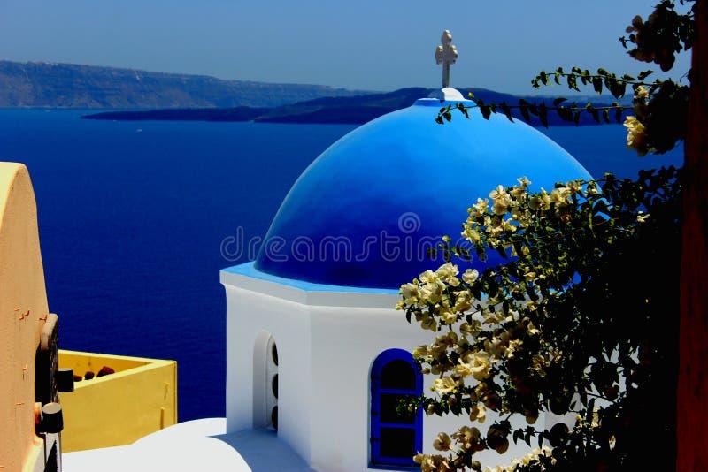 niebieska kopuła zdjęcia stock