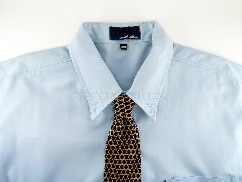 niebieska koszula obraz stock