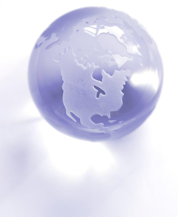 niebieska kulę zdjęcia royalty free