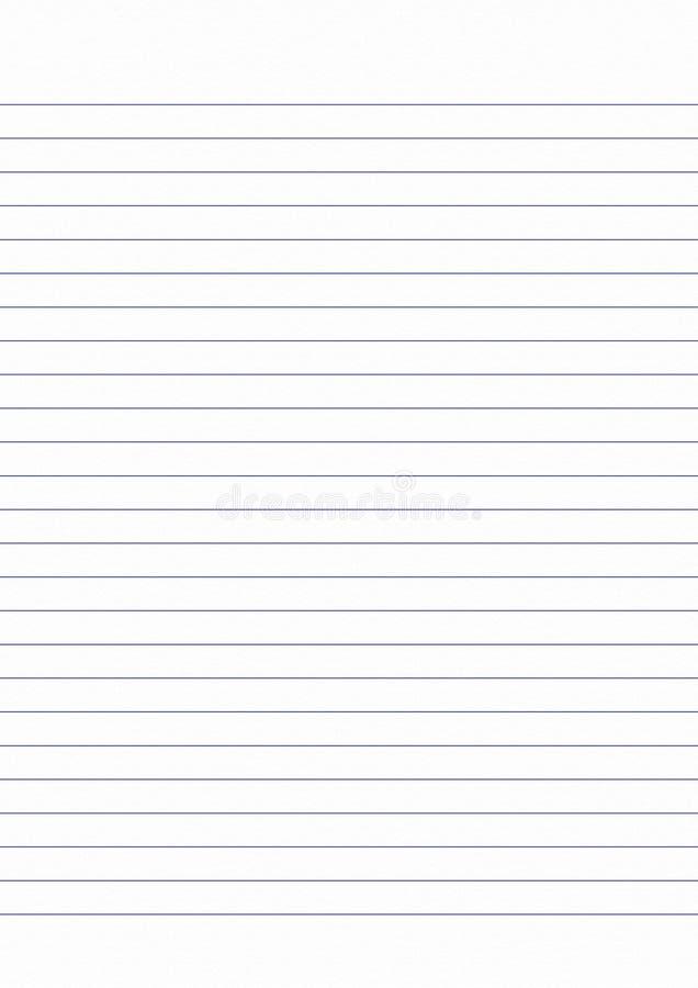 niebieska linia na bielu prześcieradle, książka jest białym stroną, książka jest białym shee royalty ilustracja