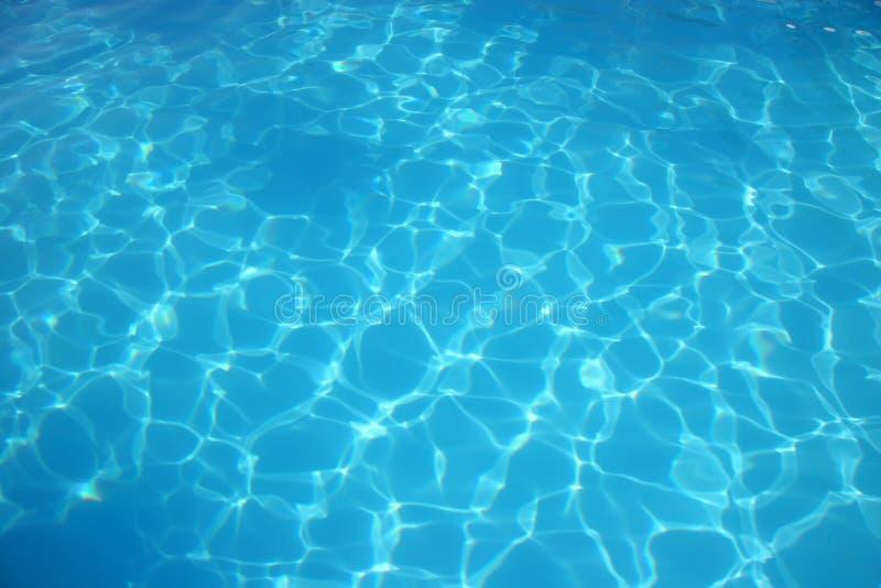 niebieska miskę wody obraz stock