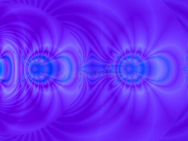 niebieska moc royalty ilustracja