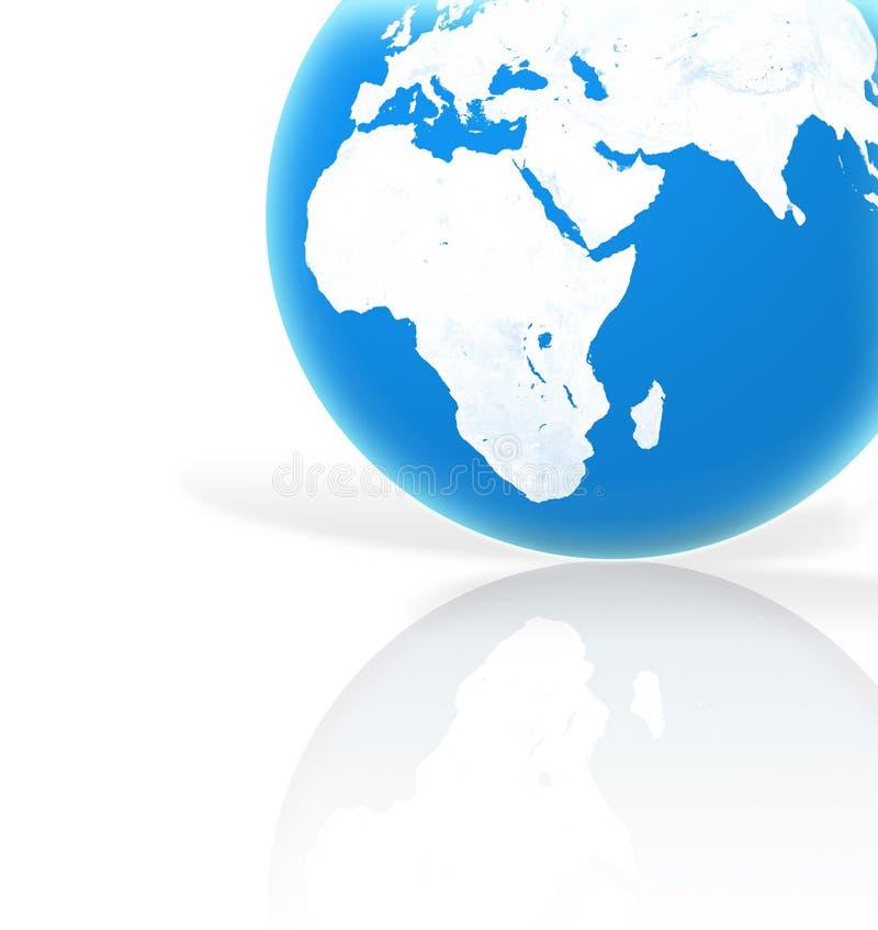 Download Niebieska planety ilustracji. Ilustracja złożonej z światło - 49706