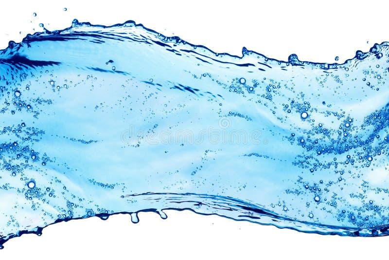niebieska plusk wody zdjęcie royalty free