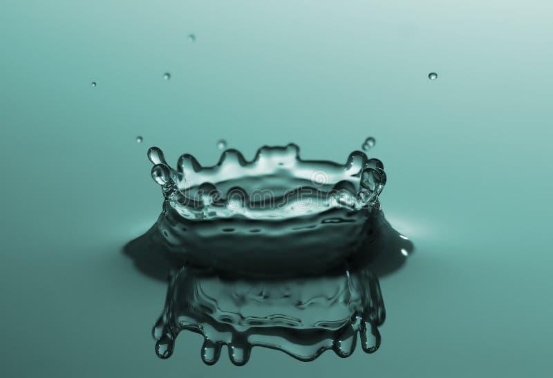 niebieska plusk wody zdjęcia stock