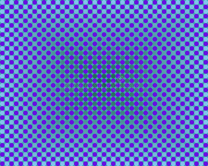 niebieska sztuki okrąża pochylenia jeden tysiąc operacji royalty ilustracja