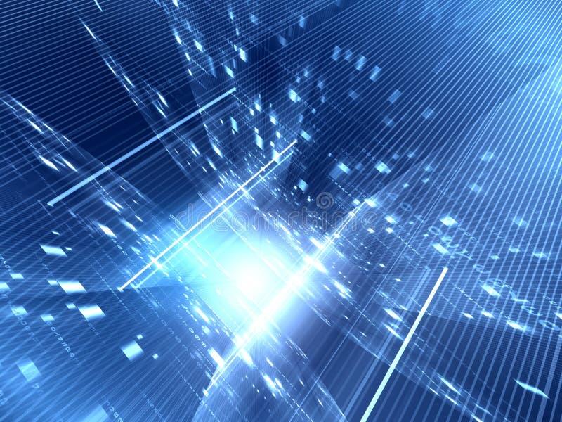 niebieska tła abstrakcyjne ilustracja wektor