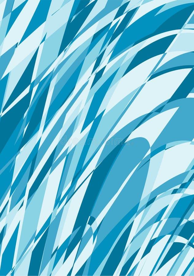 niebieska tła abstrakcyjne royalty ilustracja