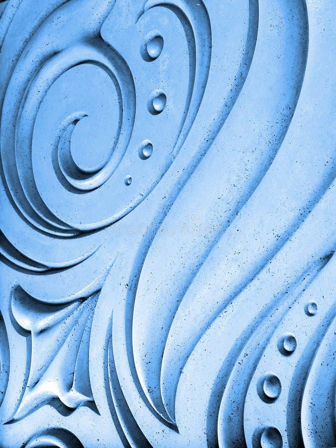 niebieska tła abstrakcyjne zdjęcie stock