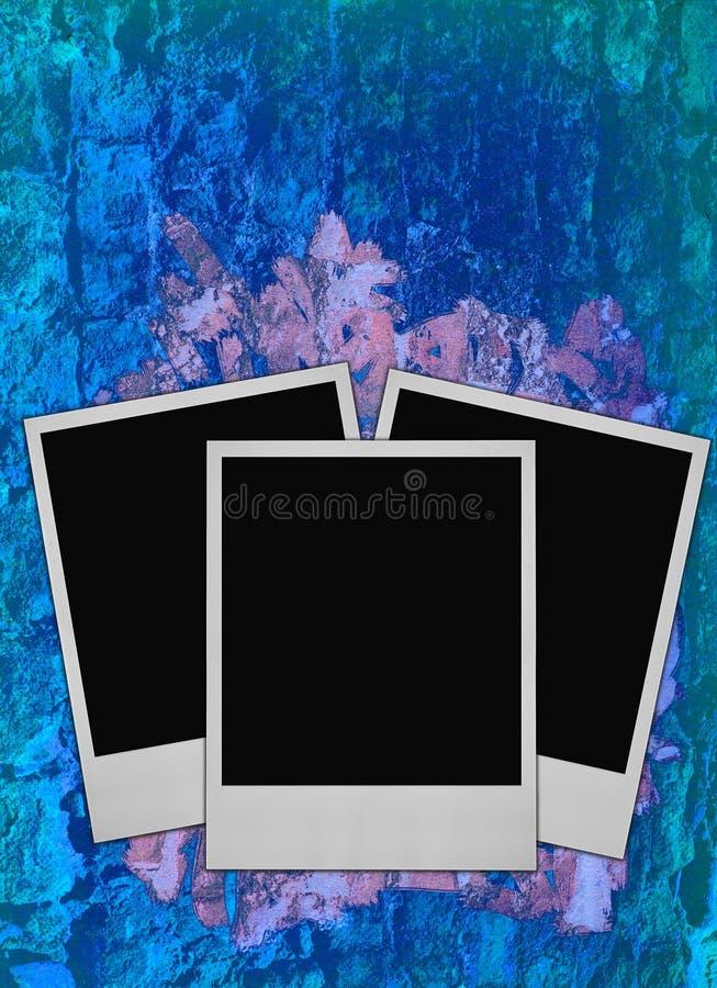niebieska tła wrabia ciężką zdjęcie fotografia stock