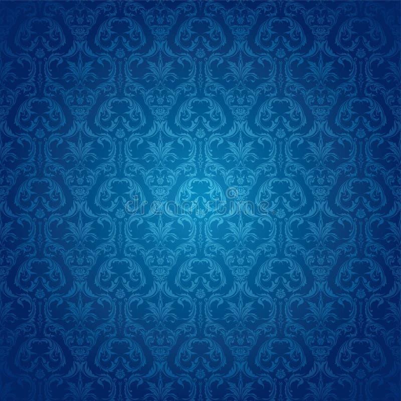 niebieska tapeta ilustracja wektor