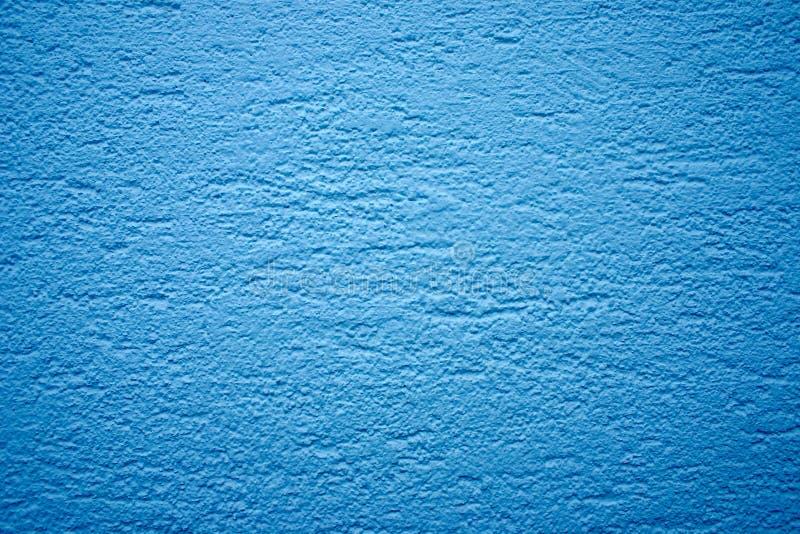 niebieska tekstury ściany obraz stock