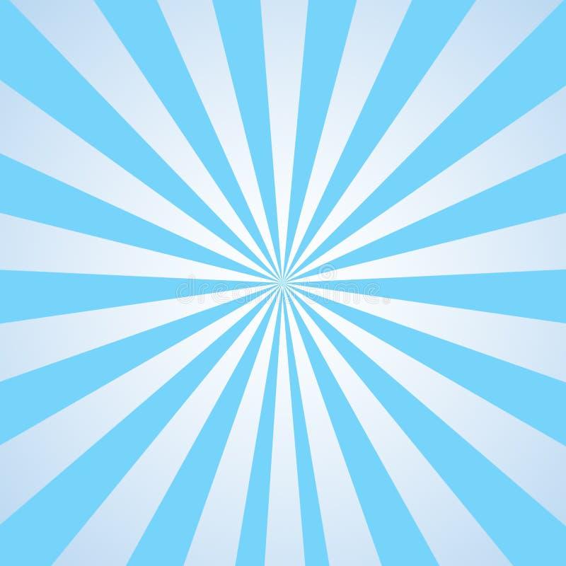 niebieska textured abstrakcyjne tło białe royalty ilustracja