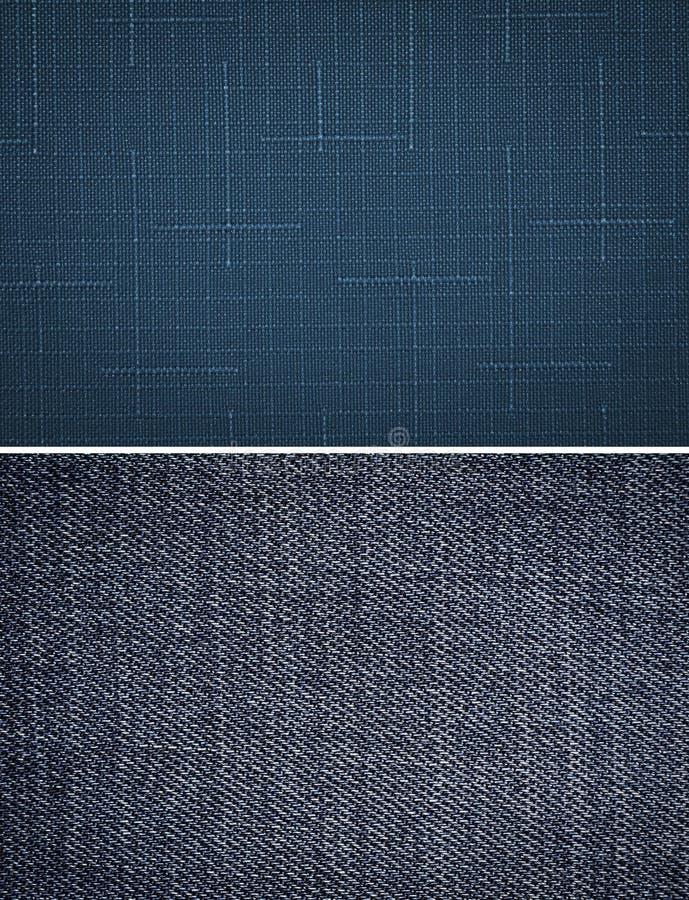 niebieska tkaniny konsystencja zdjęcie stock