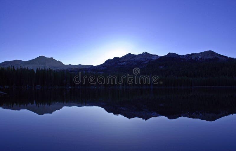 niebieski świt fotografia royalty free