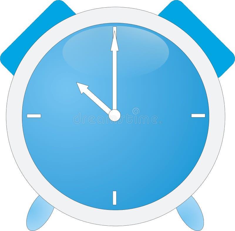 niebieski alarmowego zegar obrazy royalty free