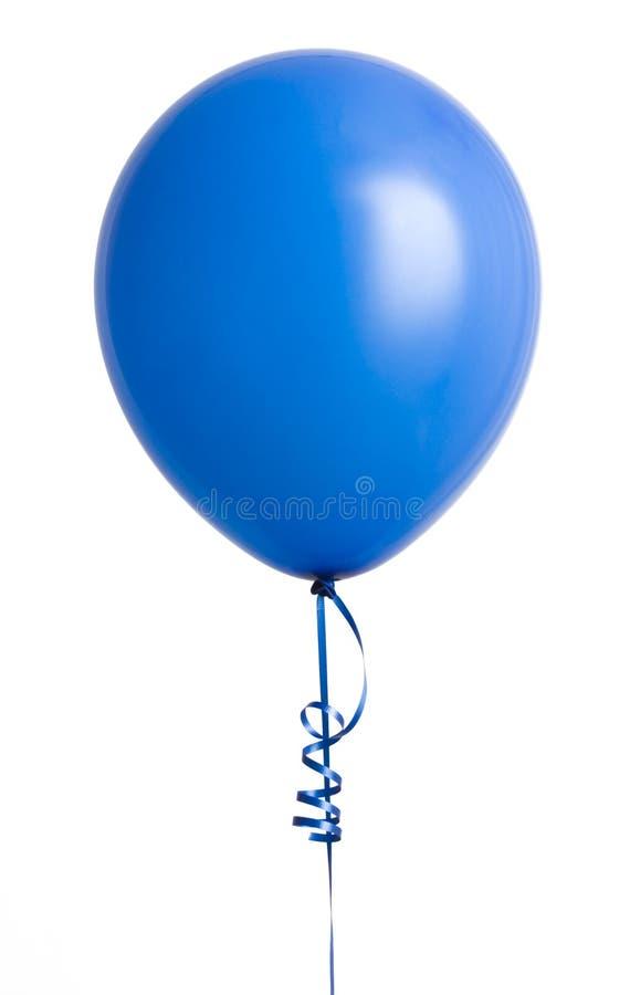 niebieski balonowy white zdjęcia royalty free