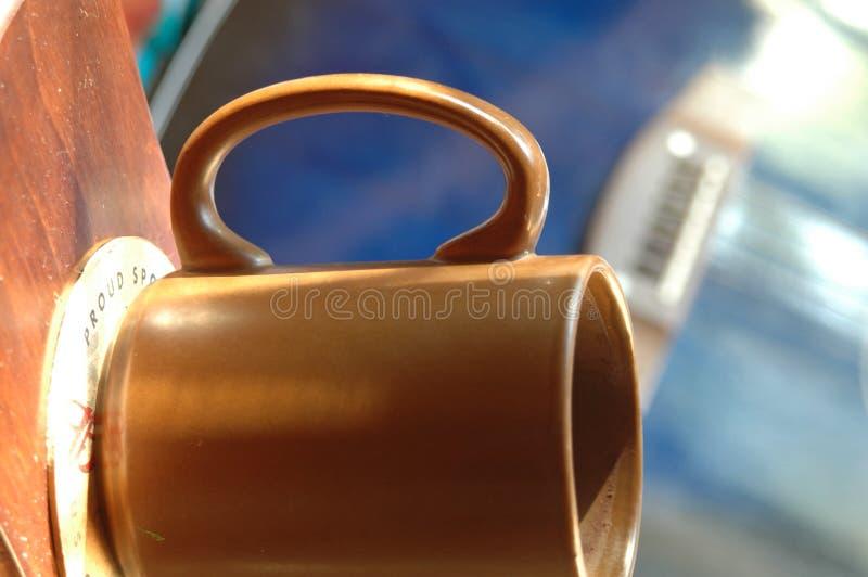 niebieski brązowego zdjęcia stock