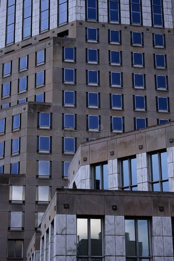 niebieski budynek zdjęcia stock