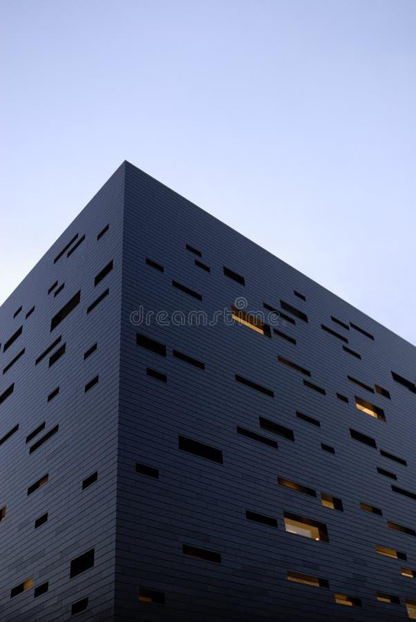 niebieski budynek zdjęcie stock
