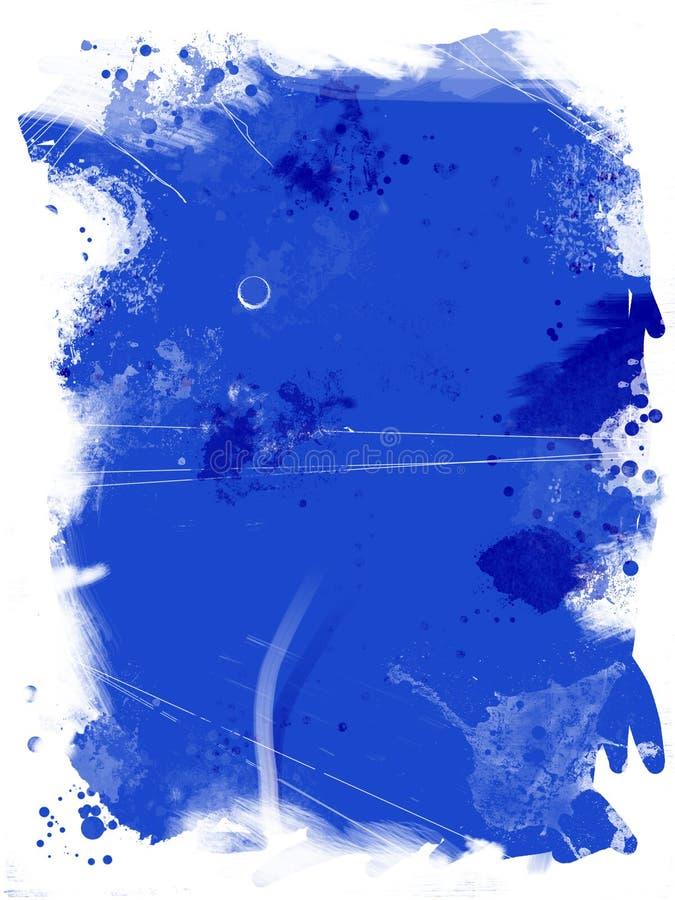 niebieski crunch ilustracja wektor
