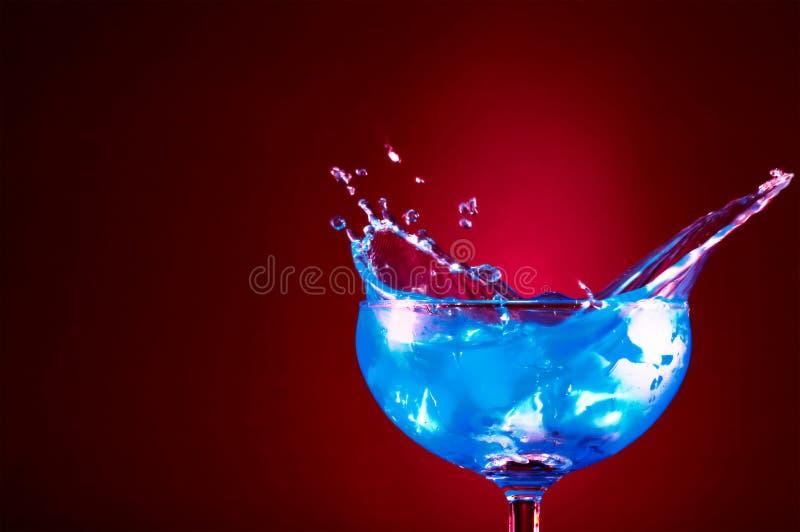 niebieski fale zdjęcie stock