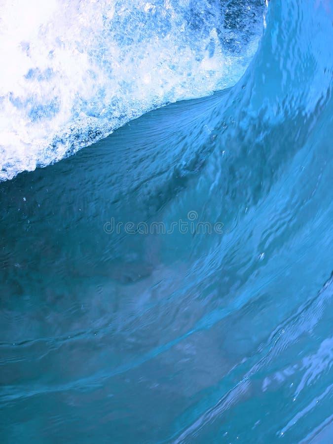 niebieski fale obraz royalty free