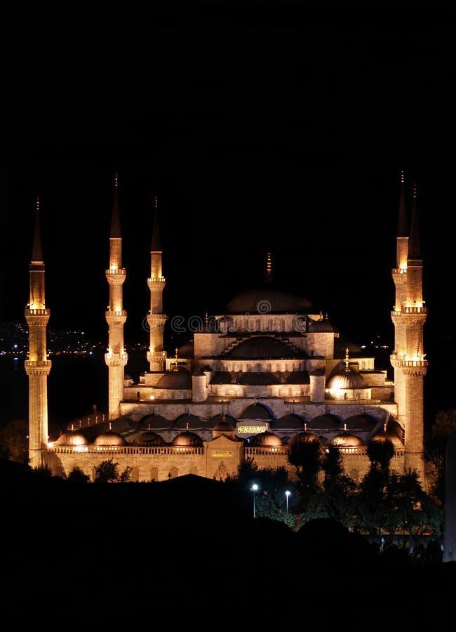 niebieski Istanbul meczetu obrazy royalty free