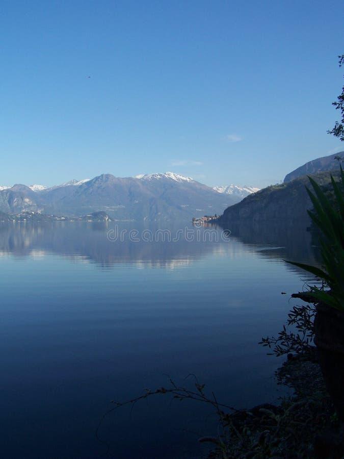 niebieski jeziora zdjęcie royalty free