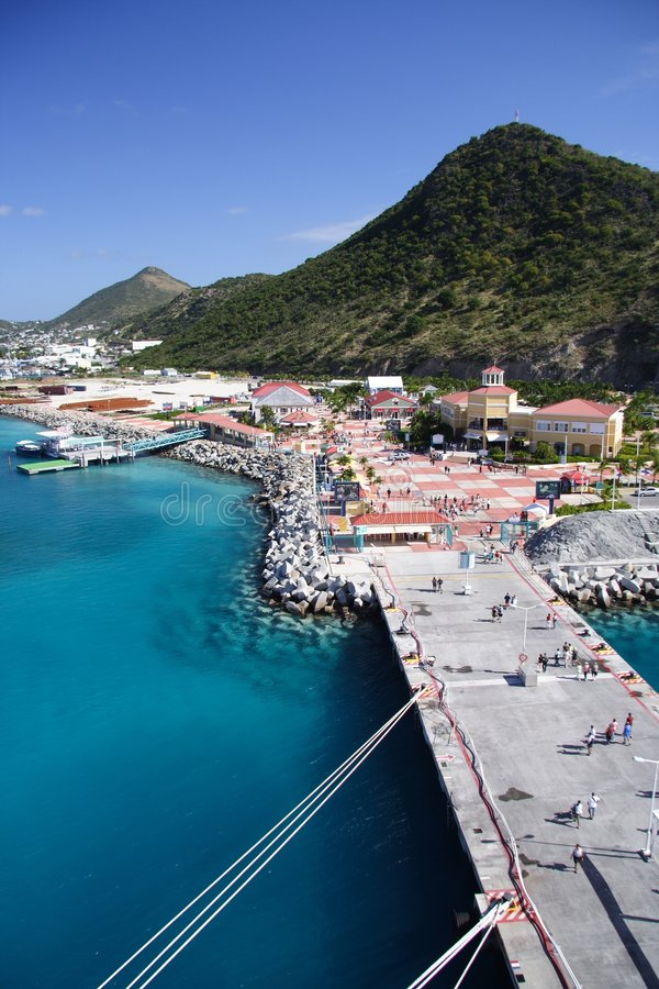 niebieski karaibów fotografia stock