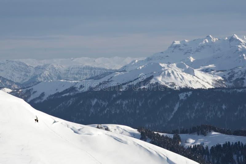 niebieski krajobrazu zdjęcia royalty free