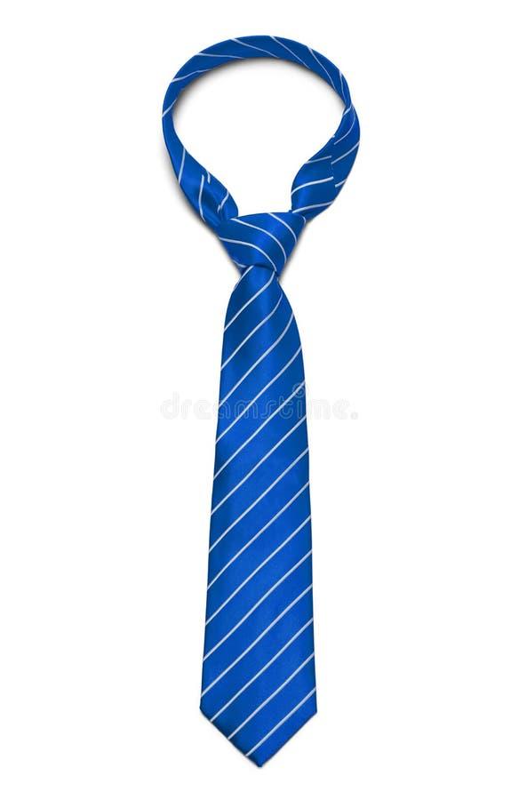 niebieski krawat obraz royalty free