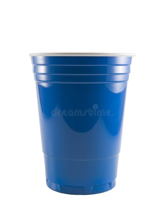niebieski kubki strona zdjęcie stock