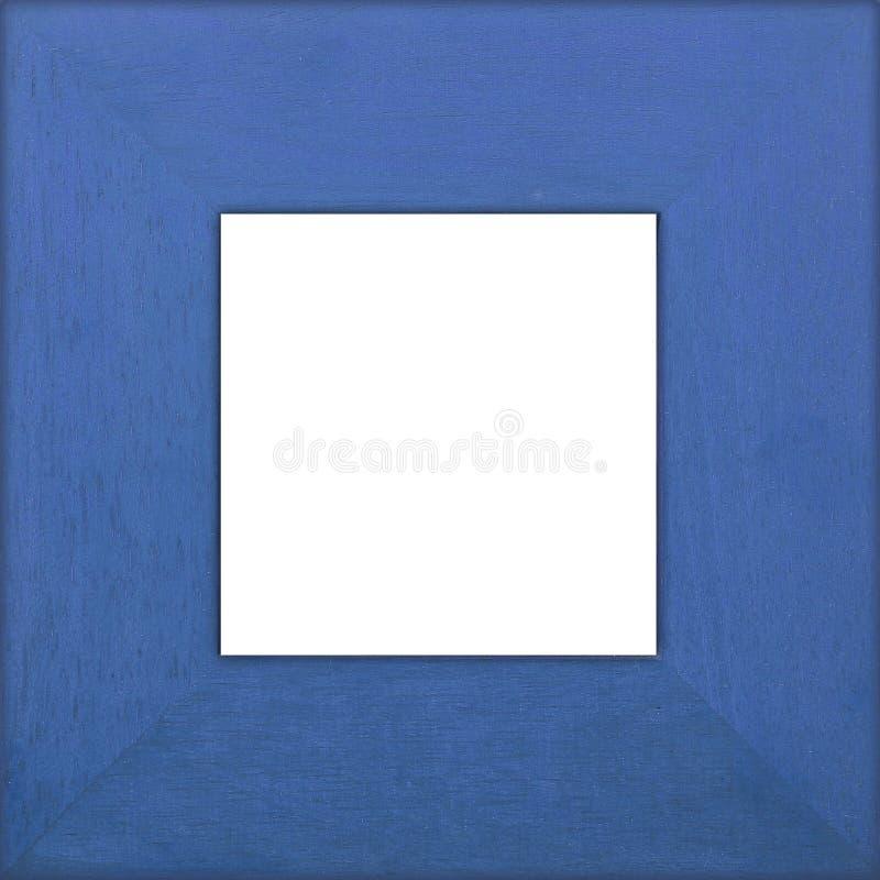 Download Niebieski kwadrat ramy zdjęcie stock. Obraz złożonej z tekstura - 130754