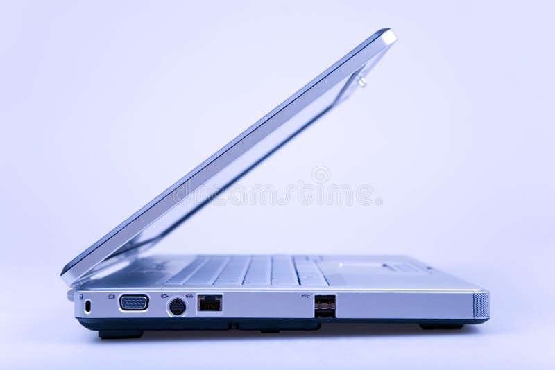 niebieski laptop zdjęcia royalty free