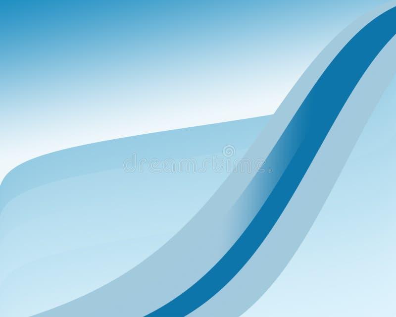 niebieski pasek wzoru światła royalty ilustracja