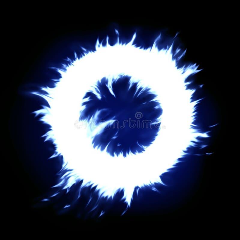 niebieski pierścionek royalty ilustracja