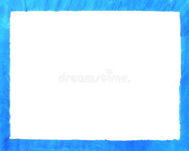 niebieski rama zdjęcie royalty free