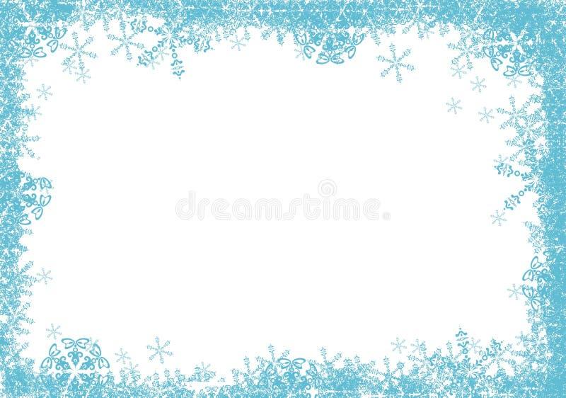 niebieski ramy gwiazdy ilustracji