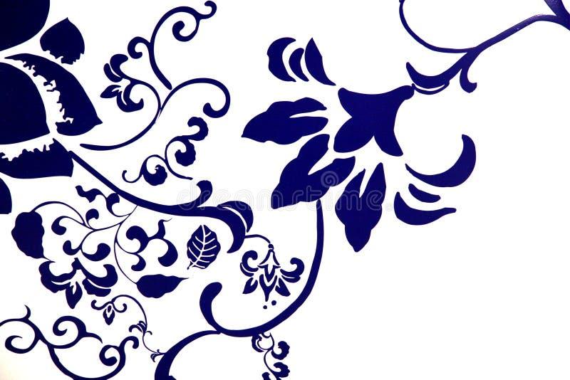 niebieski schematu fotografia royalty free