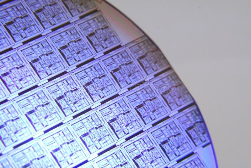 niebieski sekcja wafelka zdjęcie stock