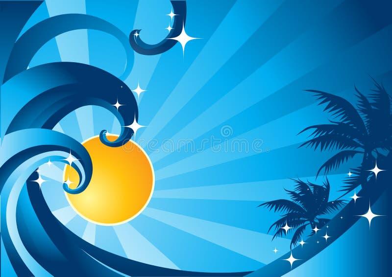 niebieski soku lato
