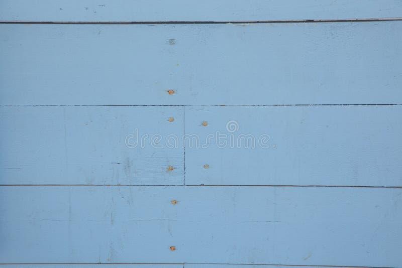 niebieski stary ściana drewna zdjęcia stock