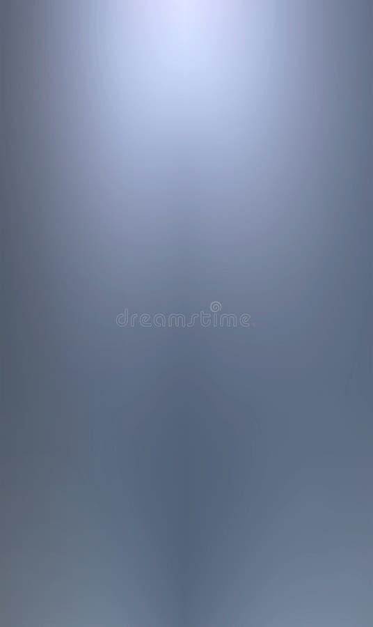 niebieski tła metalicznego gładkie royalty ilustracja