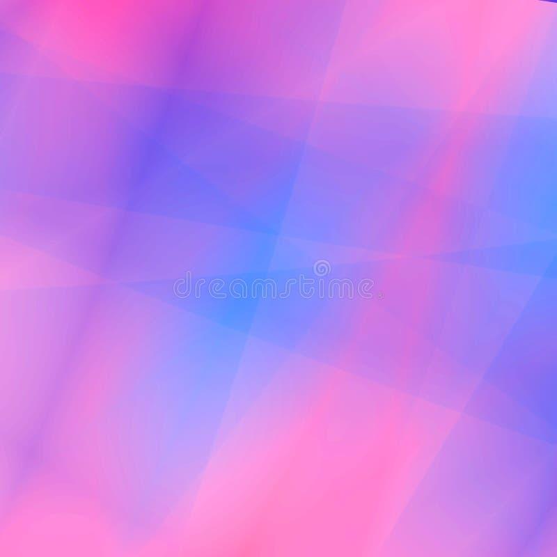 niebieski tła różowe miękka royalty ilustracja