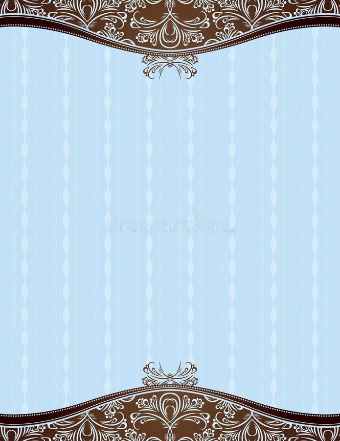 niebieski tła wektora royalty ilustracja