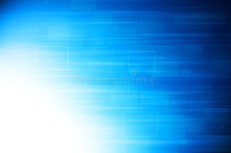 Download Niebieski Tła Abstrakcyjna Technologii Ilustracji - Ilustracja złożonej z wybuch, jaskrawy: 53782454