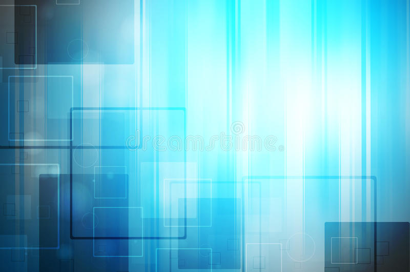 Download Niebieski Tła Abstrakcyjna Technologii Ilustracji - Ilustracja złożonej z abstrakt, ilustracje: 53784403